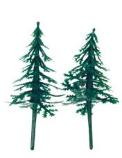 Fir Trees Cake Toppers